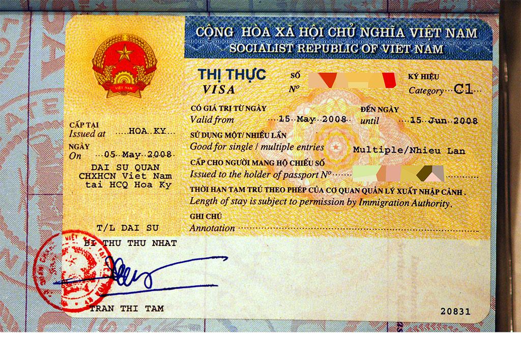 tourist visa vietnam