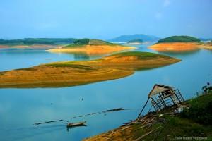 Thac Ba hydropower reservoirs