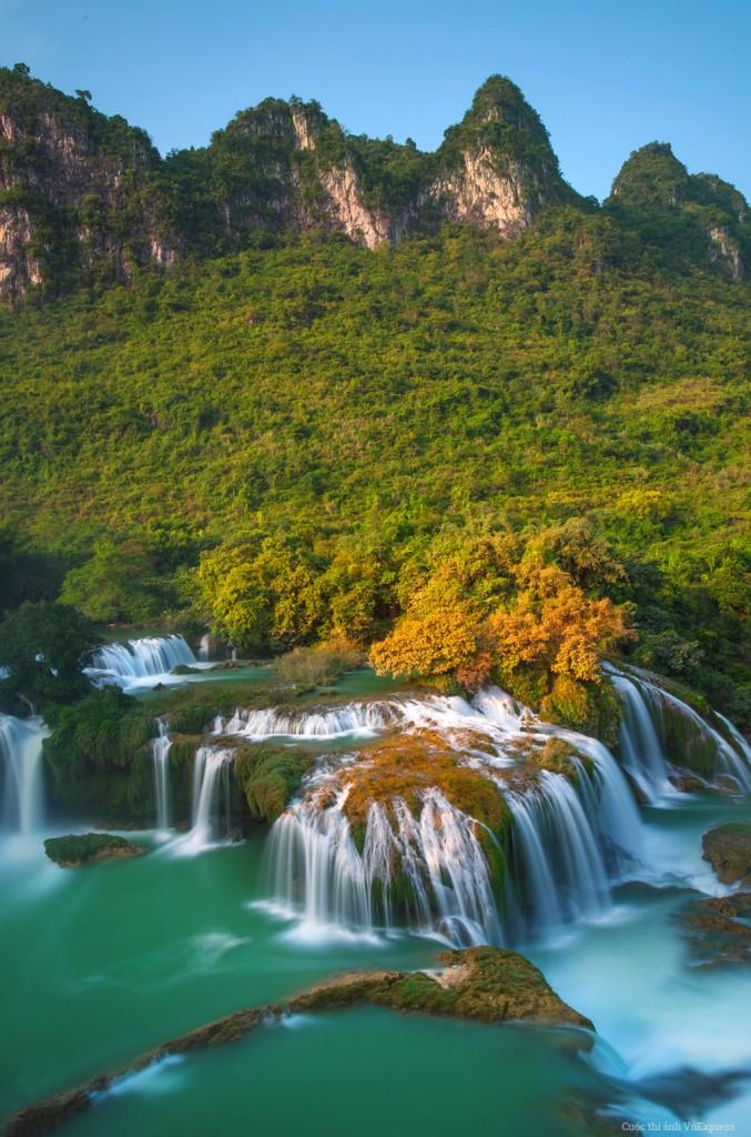 Ban Gioc Water Fall,